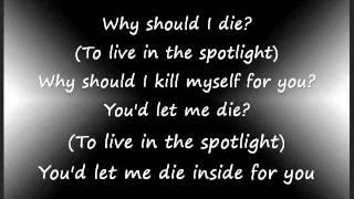 Machine Gun Kelly-Spotlight ft Lzzy Hale (Lyrics On Screen)