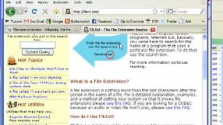 What is a file extension?