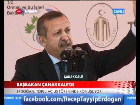 Başbakanımızın, Çanakkale Toplu Açılış Töreni Konuşması -1-