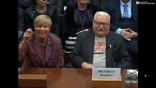 Prezydent Lech Wałęsa – przemówienie w Kongresie USA – 13.11.2019 – całe przemówienie