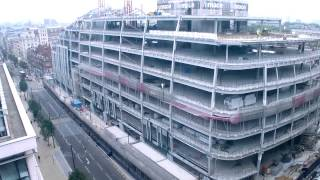 preview picture of video 'Mace: timelapse of Park House, Oxford Street construction'