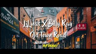 OLD TOWN ROAD LIL NAS X BILLY CRUS (LYRICS)