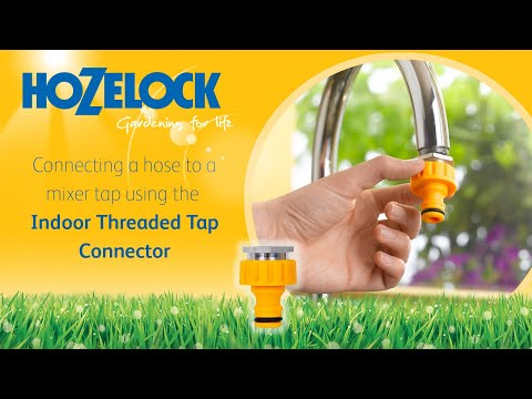How to connect your hosepipe to a mixer tap using a Hozelock 2304 connector