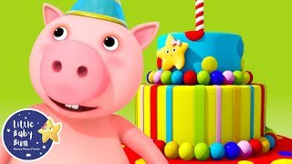 Happy Birthday Song - Little Baby Bum | Cartoons and Kids Songs | Songs For Kids | Moonbug Kids