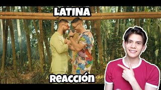Reykon   Latina (feat. Maluma)[Video Oficial] (Reacción)