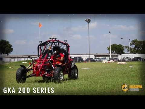 2021 Massimo GKM125 in Mio, Michigan - Video 1