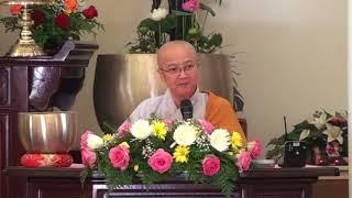 Ni Sư TN Đức Hòa Thuyết pháp tại chùa An Lạc -Indiana - VuLan 2018