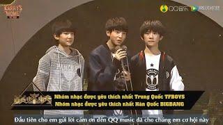 [Vietsub][QQ Music Awards 2015] TFBOYS-Giải nhóm nhạc được yêu thích nhất Trung Quốc