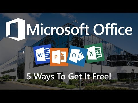 5 Ways You Can Use Microsoft Office for Free!