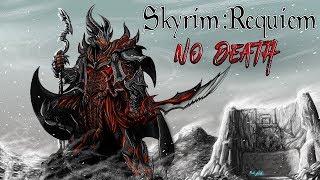 Skyrim Requiem (без смертей) - Темный Эльф #1 Сто лет крафта