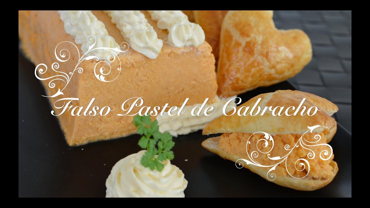 Pastel de Cabracho Themomix | Pastel de Cabracho | Como hacer Pastel de Cabracho | San Valentin