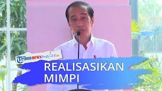 Realisasikan Mimpinya Sejak Jadi Wali Kota, Jokowi: Dulu Tidak Eksekusi karena Takut Dipanggil KPK