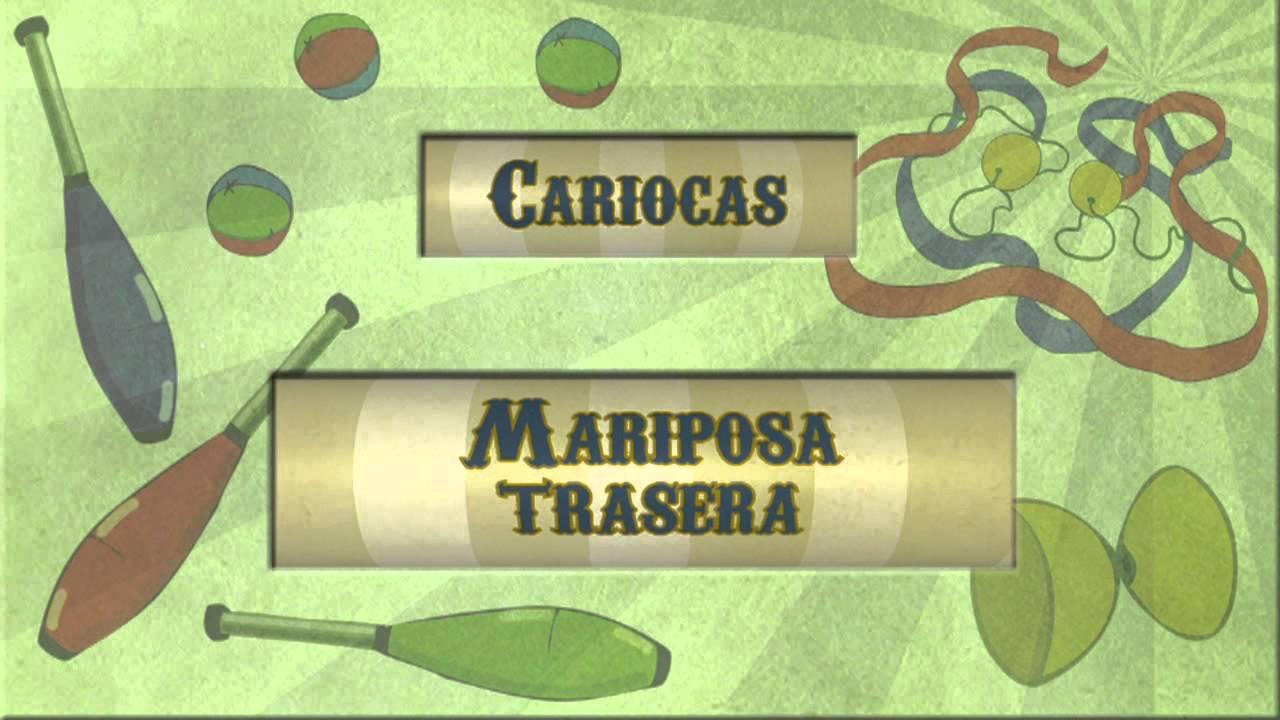 Archi malabares cariocas: Mariposa trasera