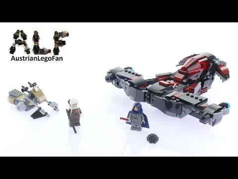 Vidéo LEGO Star Wars 75145 : Le vaisseau Eclipse