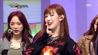 뮤직뱅크 Music Bank   Not That Type   구구단(gugudan).20181109