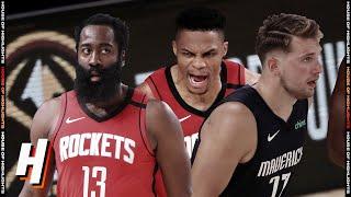 Houston Rockets Vs Dallas Mavericks - Full Game Highlights | July 31, 2020 | 2019-20 NBA Season