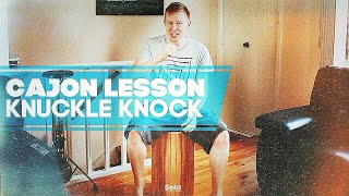 Lesson: Knuckle Knock Groove
