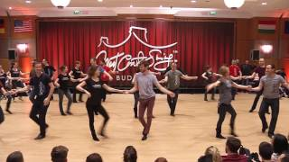 BudaFest team routine 2017