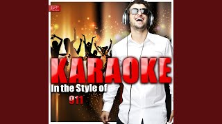More Than a Woman (In the Style of 911) (Karaoke Version)