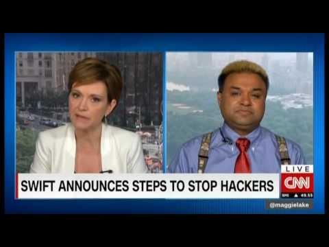 CNNi Money with Maggie Lake Raj Goel SWIFT attacks