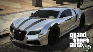 "GTA 5 Online - ADDER Online Spawn Location! (FREE Bugatti Veyron!) ""GTA 5 Rare & Secret Vehicles"""