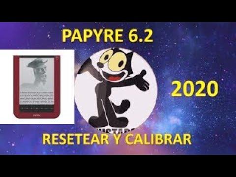 COMO RESETEAR LIBRO ELECTRONICO PAPYRE 6.2 Y CALIBRAR LA PANTALLA