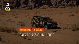DAKAR2021 - Stage 10 - Neom / AlUla - Dakar Classic Highlights