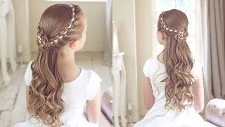 Flower Girl/Holy Communion Style By SweetHearts Hair