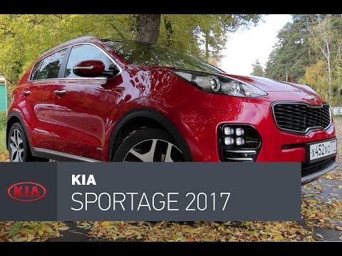 Kia  Sportage Паркетник класса J - тест-драйв 4