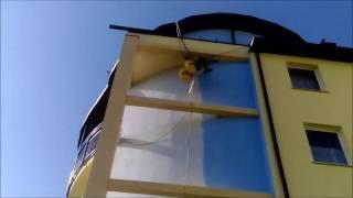 Malowanie elewacji budynku mieszkalnego Olanex