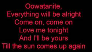 Oowatanite by April Wine (Lyrics)