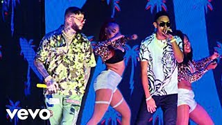 Myke Towers ❌ Farruko - Si Se Da Remix en VIVO🔴 [PREMIOS HEAT LATIN MUSIC AWARDS 2019]Video Oficial