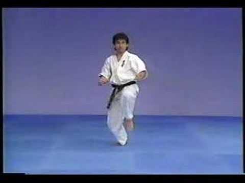 Karate kyokushin sokugi taikyoku ichi,ni and san