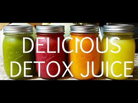 Video Delicious Detox Juice Recipe!  Must Try!