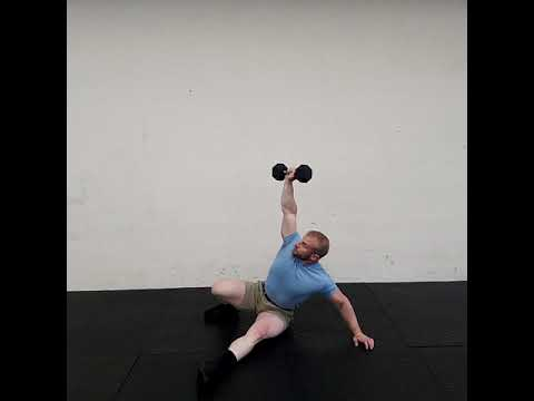 Dumbbell Get Up Sit Up