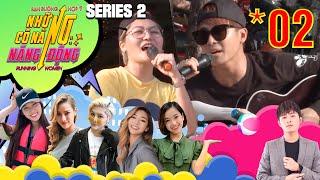 RUNNING WOMEN 2 - NCNND #2 FULL | Gin Tuấn Kiệt ôm đàn ra chợ hát rong cùng Vicky Nhung vì túng tiền