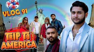Trip To America    Tawhid Afridi   Tahseenation   Bangladesh To USA   Family   Vlog 91