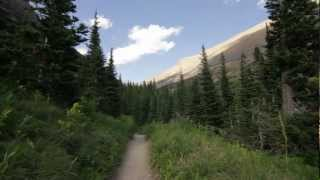 Trip video of the Poia Lake/Elizabeth Lake/Ptarmigan Tunnel loop with Iceberg Lake.