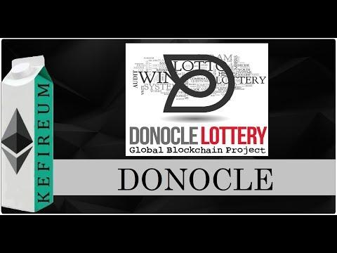 Donocle - игровая платформа для проведения Лотерей