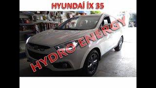 Hyundai İX 35 hidrojen yakıt sistem montajı