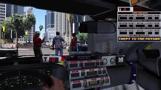 GTA 5 МОД. Назад в будущее. TIME TO TRAVEL.