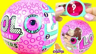 КУКЛЫ ПУПСИКИ ЛОЛ ДЕКОДЕР 4 СЕРИЯ ШПИОНОВ!!! Lol Surprise Baby Sisters Series 4 - My Toys Pink