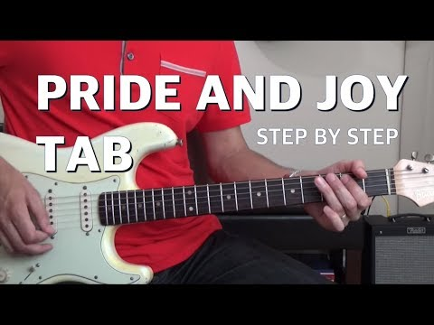 Pride and Joy Tab | Step-By-Step SRV Technique 🎸