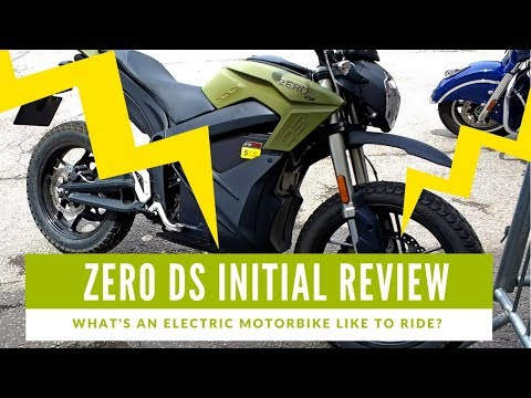Zero DS Motorcycle Review -What's an electric motorbike like toride?
