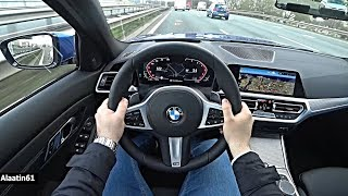 The New BMW 3 Series 2020 POV Test Drive