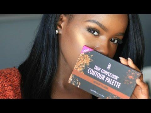 Budget Friendly Contour Kit For Dark Skin | Black Radiance True Complexion Contour Palette