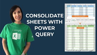 Consolidate Excel Sheets with Power Query
