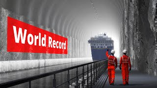 World's First Tunnel for Cruise Ships
