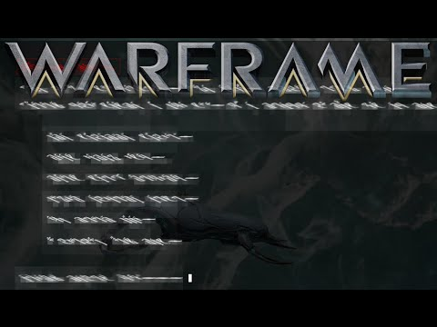 Weird Squiggly Text After Mission Warframe General Discussion