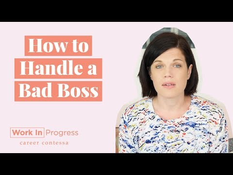 How to Handle a Bad Boss (How to Deal With a Toxic Boss + What to Do With Bad Managers at Work)
